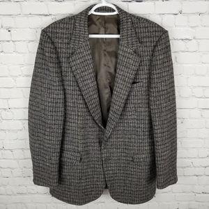 HARRIS TWEED | vintage Scottish wool sport coat